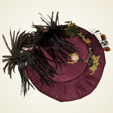 Antique Fashion Doll Hat