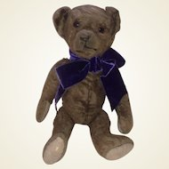 Antique American Ideal Mohair Jointed Teddy Bear