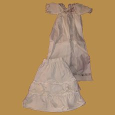 Antique Pair Of Early Doll Undergarments