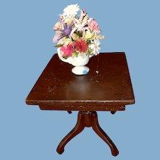 Old Miniature Dollhouse Miniature Floral Vase Accessory