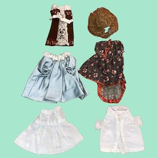 Antique Victorian Miniature Clothing For All Bisque Mignonette Fashion Dolls