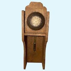 Antique German Miniature Dollhouse Clock