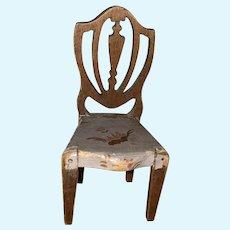 Tynietoy Miniature Hepplewhite Painted Dollhouse Chair