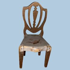 Tynietoy Miniature Hepplewhyte Painted Dollhouse Chair