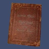 Antique Miniature Little Will Alpine Cross Jesus Seat American Tract