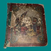 Antique Victorian Early German Child's Learning Guide Handbook