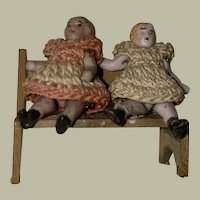 Antique German Carl Horn Twin Jointed Dolls