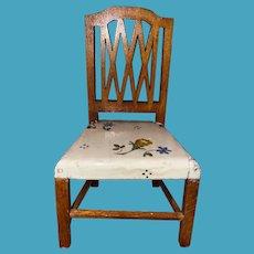 Tynietoy Miniature Dollhouse  Sheraton Chair With Wonderful Paint
