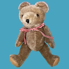 Antique Old Mohair Jointed Teddy Bear