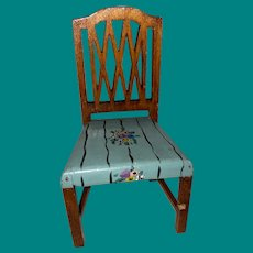 Tynietoy Dollhouse Painted Miniature Chair