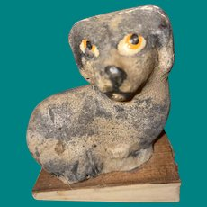 Antique German Squeak Spaniel Early Toy