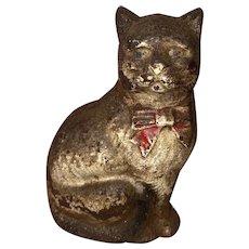 Antique Hubley Cast Iron Kitty Cat Bank