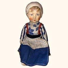 "German Cloth Bing Art "" Kruse Type"" Doll"