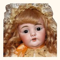 """21"""" Darling Child Doll Antique German Kestner Mold 143 ~ Layaway~"""