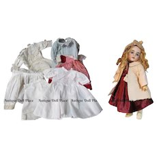 """15"""" Antique German Doll by Kestner 164 with Trunk Trousseau 1900ca+ ~ Layaway~ Perfect condition ~"""