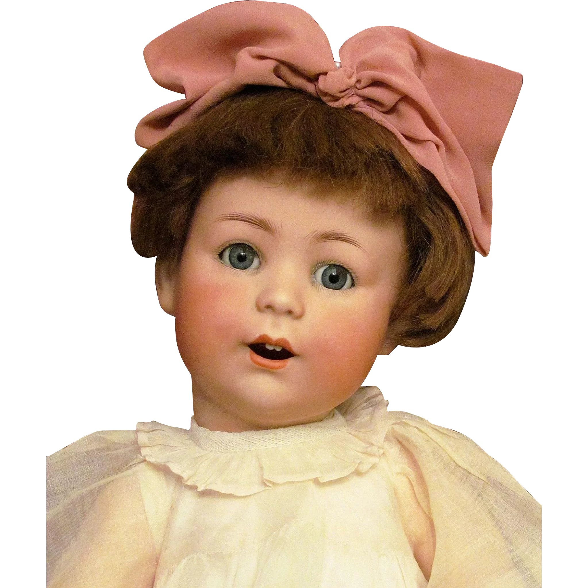 """18"""" Antique German Doll Character Baby """"Jutta"""" Mold 1914 Cuno Otto"""