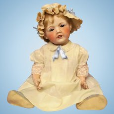 """20""""  """"Hilda"""" by Fulper Character Baby Bisque Head Doll Made In USA ~~ with issues~~"""