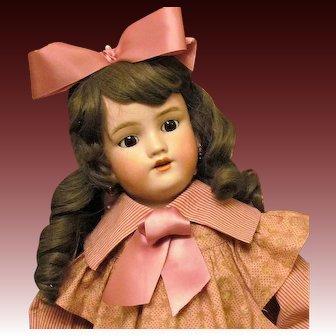 "25"" Antique Heinrich Handwerck Simon & Halbig Doll"