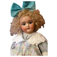 "Adorable Child ~25"" German Simon & Halbig Doll 1079 DEP Original Stamped Handwerck Body"