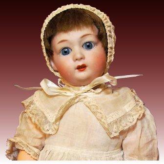 "14"" Gebruder Heubach Doll Mold 8192 Character Antique German Doll ~ Flapper Body~"
