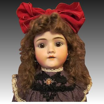 """Lovely Mohair Wig 14"""" in Circumference"""