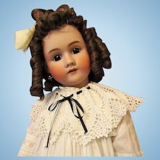 "30"" Heinrich Handwerck Simon & Halbig Antique Doll ~ Stunning Antique Costume~"