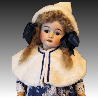 "30"" Max Handwerck Mold 283 Beautiful Childlike expression Antique German Doll"