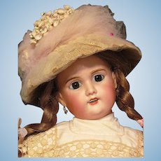 Antique French Doll Limoges 22 inch Lanternier  ~ Layaway~~