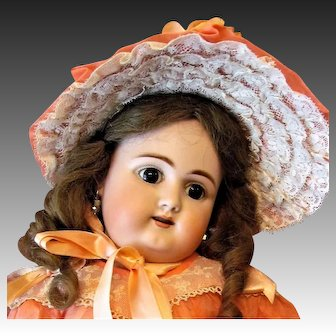 """18"""" Early German Doll by Handwerck with French Bebe look Mold 79"""