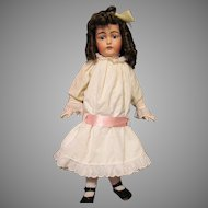 Eyelet Dress, Pantaloons fits 29 inch French or German Doll