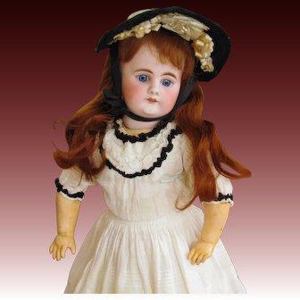 18inch German Doll Bahr Proschild 300 all antique clothes.