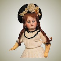 18inch German Doll Bahr Proschild 300 , Excellent Condition ~ Antique clothes ~