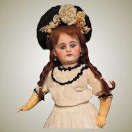 18inch German Doll Bahr Proschild 300 , Excellent Condition ~ Antique clothes ~