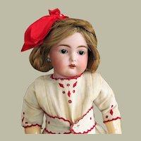 "17"" Rare German Cassel  Bisque Doll INCISED "" C "" ~ Absolutely Perfect ~Kammer & Reinhardt Kestner"