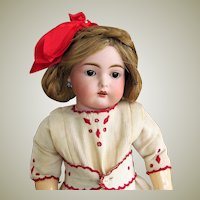 "17"" Rare German Cassel  Bisque Doll INCISED "" C "" ~ Absolutely Perfect ~Kammer & Reinhardt Kestner"