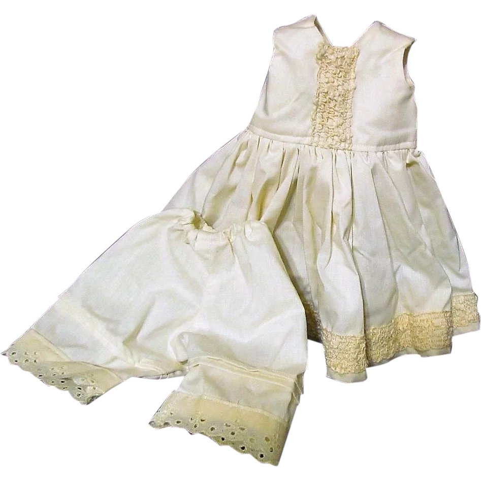 6205063fd35 Set of undergarments Slip Pantaloons for a Bisque Head 18