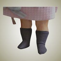 Cotton Knit Doll brown Socks Stockings for 16 -17 inch doll
