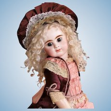 Closed Mouth ED French Antique Bebe 20inch Doll Etienne Denamur, 1888Ca+