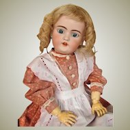 """20"""" German Doll by Simon Halbig Mold 1079 ~ Early made doll sleep blue eyes ~ Superb condition~ Layaway 4 months"""