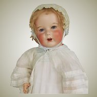 """28"""" French Bisque Toddler SFBJ Unis 251 Character Doll ~~ Layaway~~"""