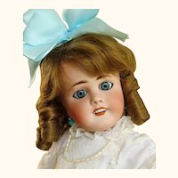 "Antique French Doll Limoges  20"" Lanternier ~~~Please wait for an Invoice ~"