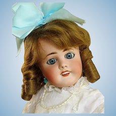 Antique French Doll Limoges  20 inch Lanternier ~ Sleep blue eyes ~ Precious~~