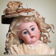 """Antique 13"""" German Sonneberg Doll Bahr & Proschild."""