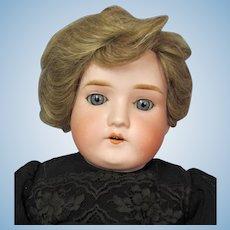 Antique German A & M Doll, Mabel Bisque Shoulder Head Doll,  22 Inch