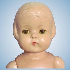 Vintage Effanbee Patsy Lou Doll Sleep eyes, TLC  ~ 1930's ~