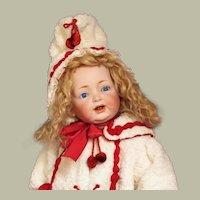 "23"" Toddler Kestner Mold 211 ~ Rare Toddler body ~~Antique German Character Doll` ~ Layaway~"
