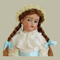 "25"" Antique German Doll Kammer & Reinhardt Flirty Blue Eyes Simon Halbig ~~ Layaway ~~"