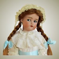 "25"" Antique German Doll Kammer & Reinhardt Flirty Blue Eyes Simon Halbig ~~ Layaway ~~"