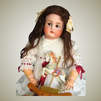 "28"" Antique German Doll Kammer Reinhardt K * R  with flirty sleep original eyes and beautiful original body~ Perfect~ Layaway ~"