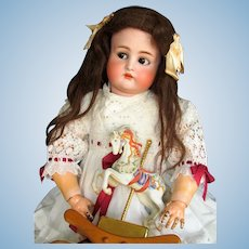 "28"" Antique German Doll Kammer Reinhardt K * R  with flirty sleep original eyes and beautiful original body~ Perfect~ Layaway ~"
